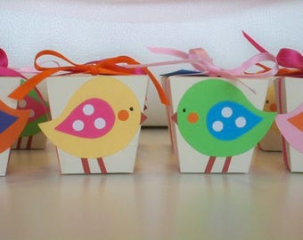Christening Party Favors Birds