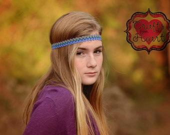 Headbands for Women - Purple Headband - Boho Headband - Bohemian Headband - Halo Headband - Adult Headband - Hippie Headband - Headbands