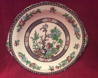 W R Midwinter Indian Tree Bread and Butter, Cake Plate