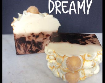French Vanilla Soap - Dreamy Handmade Soap - Artisan Soap - Bar Soap - Vanilla Soap - Silk Soap - Made with Silk!