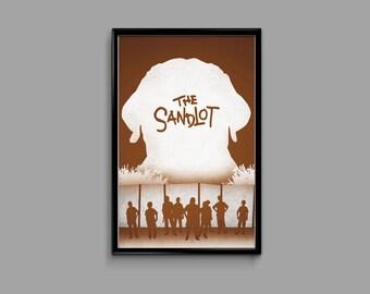 The Sandlot 11 x 17 Minimalist Movie Poster