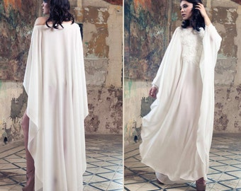 Soft Caftan Dress, Beach Dress, Bridal Lingerie, Beach cover up, Tunic, boho dress, Wedding lingerie, Kaftan Dress, beach caftan, maxi dress