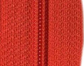 YKK #5 Zipper Tape  Red Sold in 50cm increments long pulls sold separately