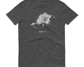 Knoxville Shirt, Knoxville TN, Knoxville TShirt, Knoxville Gift, Knoxville Tee, Knoxville Map, Tennessee Shirt, Tennessee Map, University