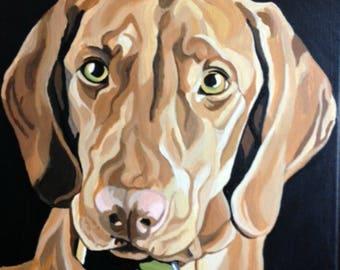 Dog Painting, Custom Pet Portrait, Pet Portrait, Dog Portrait Custom, Pet Painting, From Photograph, Memorial Pet Portrait, Pet Owner Gift