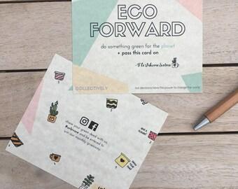 Plantable Eco Forward Card
