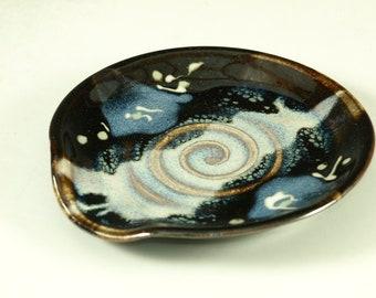 Spoon rest - wheel thrown pottery
