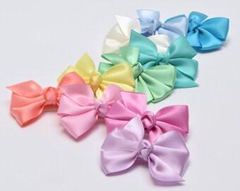 Hair Bows, Baby Hair Bows, HairBows, Satin Bows, Baby Girl Hair Bows, Baby Bows, Toddler Hair Bows, Newborn Hair Bows, Newborn Hair clips