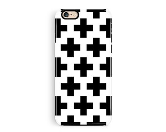iPhone 8 Case, iPhone 8 plus protective, iPhone x, Black White iPhone 8 Case, Tough iPhone 8 case, Minimalist Phone Case, Fashion Phone Case