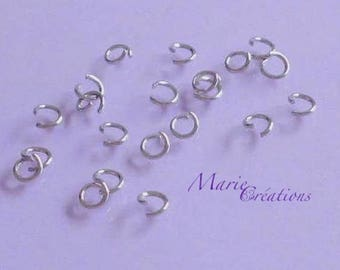 6 X 1 mm - stainless steel rings