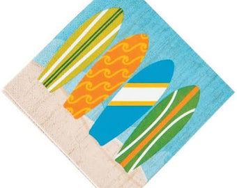 My Surfing party napkins / surf party / surfing party / surf/ surfing