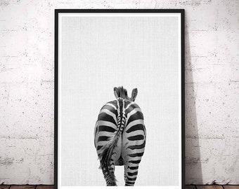 Funny Bathroom Art, Animal Prints Nursery, Bathroom Prints, Nursery Art, Animal Butt Print, Black And White, Safari Nursery, Butts Animal