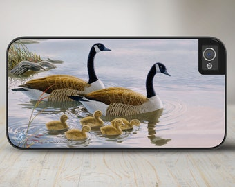 "Geese iPhone   Case, Geese iPhone Case, Geese iPhone Case Protective Geese Phone Case ""Hideaway Heritage""  50-5294"