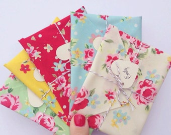 Bridesmaid Cards set of 5, Wedding Invitation, bridesmaid reveal. Maid of honour, Matron of Honour, floral fabric envelopes