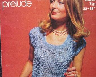 Sirdar Knitting Sweater Pattern