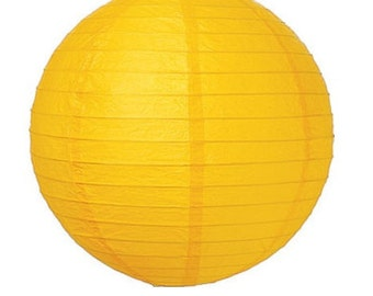 10 inch/25cm Yellow Lantern for Weddings, Engagements, Parties, Celebrations etc
