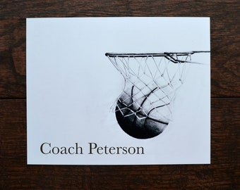 Basketball Coach Gift, Basketball Team Gift, Basketball Player Gift, Team Mom Gift, Team Gift, Gym Teacher, PE Teacher, Basketball Gift