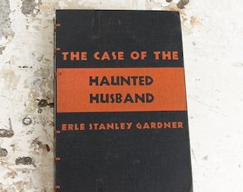 1941 HAUNTED HUSBAND Vintage Lined Journal Notebook