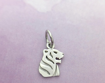 Sterling Silver Tiger Pendant, Nature Jewelry, Manufacture, Export, Wholesale