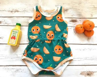Cuties Romper (Baby One-Piece/Baby Outfit/Play Outfit/Baby Romper)