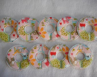 nature whimsy closet divider set