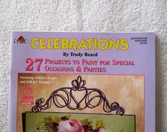 Pattern Book, Celebrations by Trudy Beard, 35 pages, new