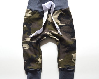 Camo Print Baby Joggers, Baby Jogger Pants, Baby Boy Leggings, Baby Leggings, Baby Pants, Toddler Leggings, Hipster Baby Clothes