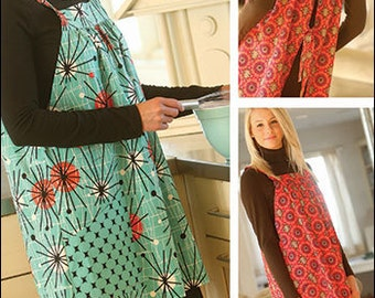 Easy-On Apron & Pullover Tunic PDF sewing epattern