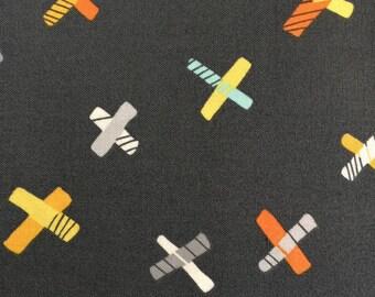 Jax by Erin McMorris in Gray for Free Spirit Fabrics