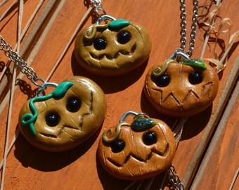 Pumpkin Patch Cuties Necklace