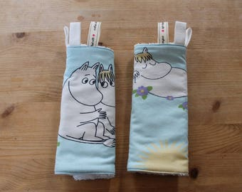 Teething Pads with ribbons - Moomins