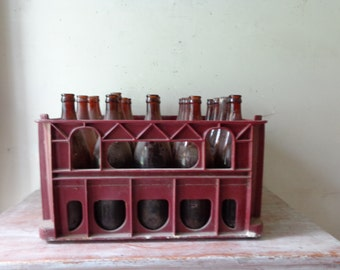 Vintage Collection of 40 Glass Beer Bottles - PICK UP ONLY