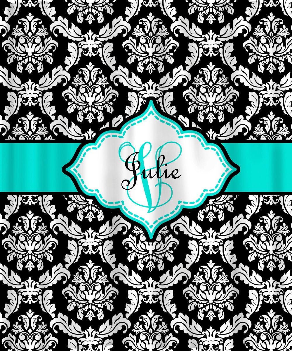 High Quality Amusing Turquoise And Black Shower Curtain Ideas   Best Inspiration .