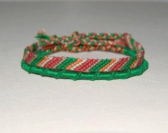 Duo of green brown bracelets bracelets matching Brasilda Indian men