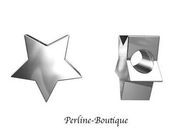 Pearl star 8mm 925 sterling silver
