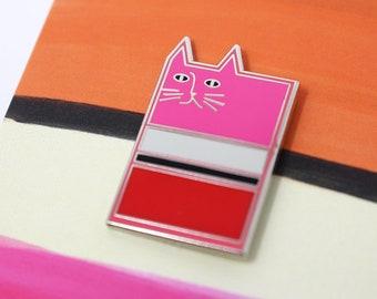 Rothcat Enamel Pin