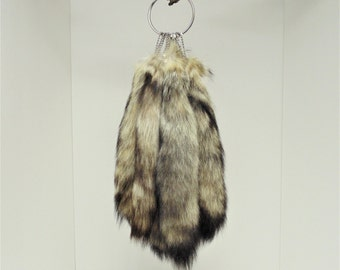 Kitt Fox Tail Keychain