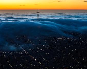 San Francisco Mission fog