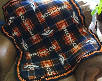 Denver Broncos Baby, Toddler Blanket