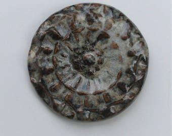Handcrafted Ceramic Cabochon CAB0381017