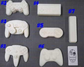 Video Game Controller Plastic Mold, Resin Mold, Soap Mold, bath bomb mold, game mold, controller mold, geeky mold, nerd mold, gamer mold