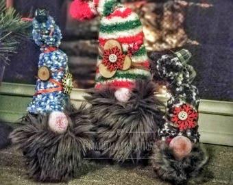 Handmade Tomte Gnomes - Family
