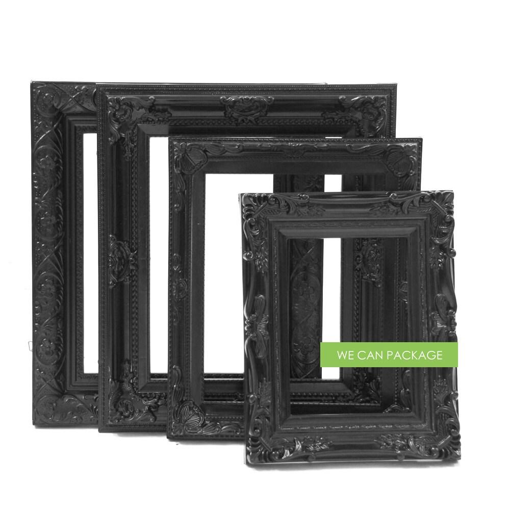 Black picture frames wedding frames gothic photo frames zoom jeuxipadfo Choice Image