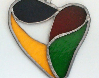 Heart 2 - Stained Glass