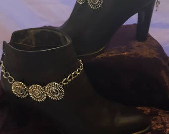 Western Boot Chain, Boot Bling,Boot Accessories, Boot Bracelets, Boot Anklets, Ladies Boot Jewelry