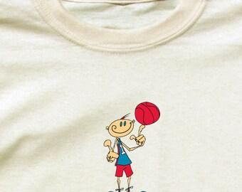 Happy Basketball Player Shirt