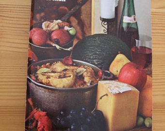 """Vintage 1967 """"The SPANISH COOKBOOK"""" By Barbara Norman"""