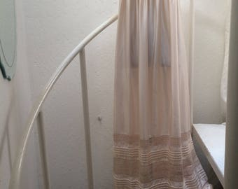 Vintage Nightgown/Boho/1970's