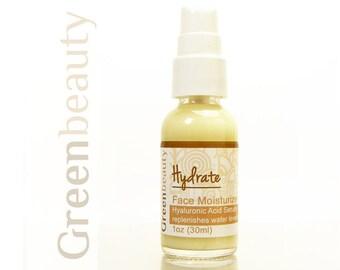 Hyaluronic acid serum, 1oz, hyaluronic acid moisturizer, face serum, anti aging serum, moisturizing serum, facial moisturizer, facial serum