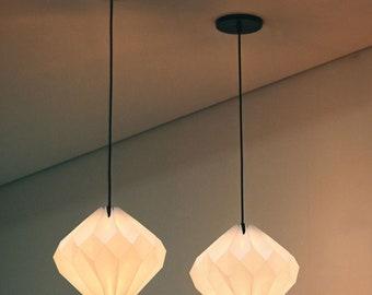origami lamp: Pure Diamond